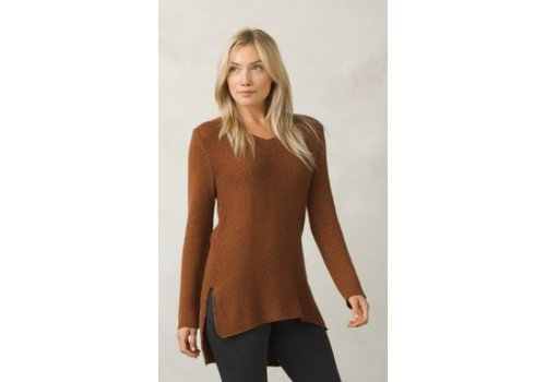 PRANA PrAna - Women's Deedra Sweater Tunic Auburn S