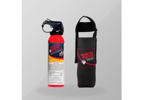 COUNTER ASSAULT Counter Assault - Bear Deterrent Spray 8 oz with Holster