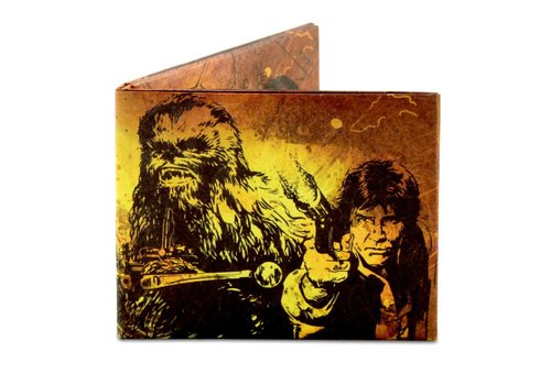 DYNOMIGHTY Dynomighty - Mighty Wallet, Hans and Chewie in Action, O/S