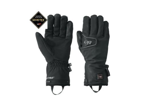Outdoor Research Outdoor Research - Stormtracker Heated Gloves - BLACK XS