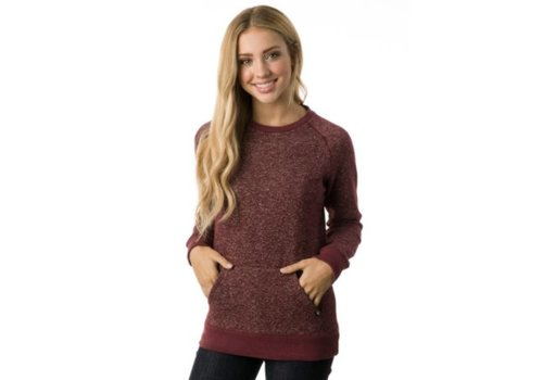 TenTree TenTree - Women's Crew L/S Fleece