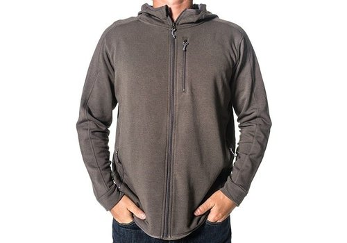 FREE FLY Free Fly - Men's Bamboo Thermal Fleece Zip Hoody
