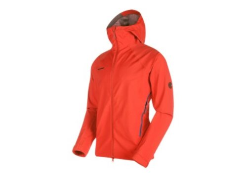 Mammut - Men's Ultimate Alpine SO Hooded Jacket