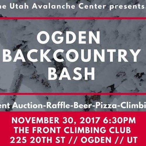 Ogden Backcountry Bash Fundraiser for UAC