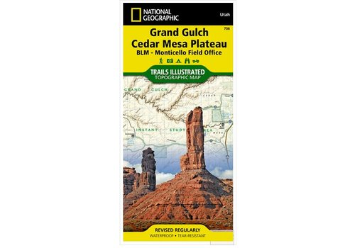 NATIONAL GEOGRAPHIC National Geographic - Trail Maps - South East Utah Maps