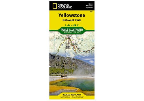 NATIONAL GEOGRAPHIC National Geographic - Trail Maps - Yellowstone