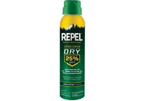 Repel - Sportsman Dry 25% Deet, Insect Repellent