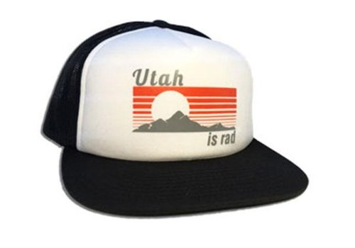 UTAH IS RAD Utah Is Rad - Retro Foam Hat