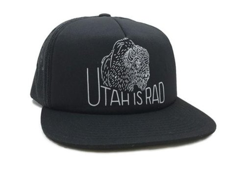 UTAH IS RAD Utah Is Rad - Buffalo Foam Hat