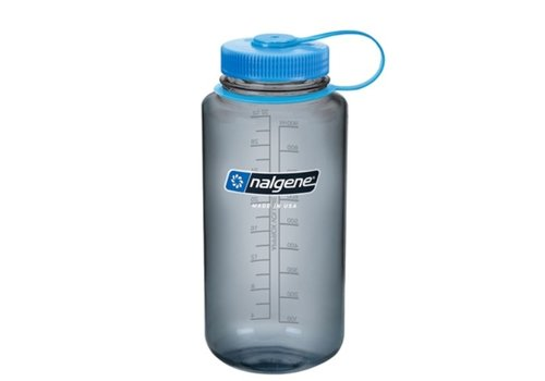 Nalgene - Wide Mouth, 1 Quart, Blues & Browns
