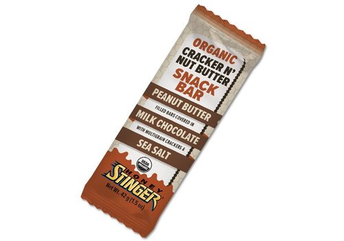 Honey Stinger Honey Stinger - Organic Cracker N' Nut Butter Snack Bar