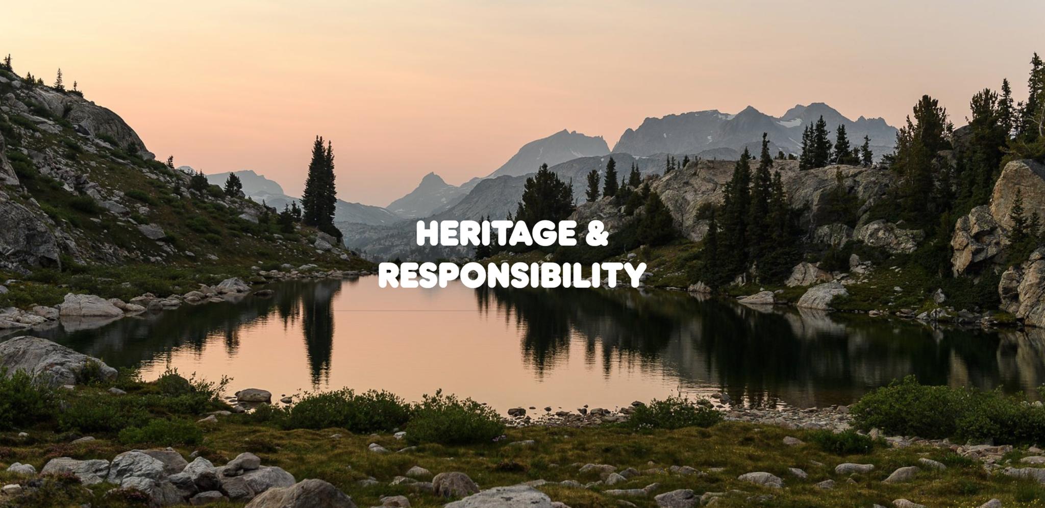 fjallraven Heritage Responsibility