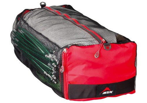 MSR MSR - Mesh Tent Storage Duffle, Red/Black