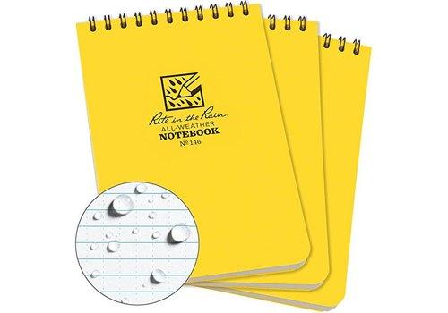 Rite In The Rain - Notebook, Yellow, 4X6
