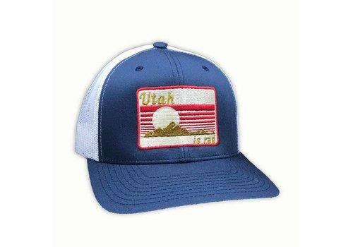 UTAH IS RAD Utah is Rad - Retro Patch Classic Trucker Hat