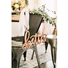 HAPPILY EVER ETCHED Blushing Better Together Chair Signs, Wood
