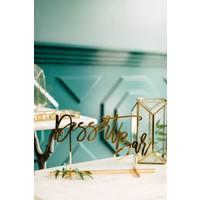 Dessert Bar Table Sign, Acrylic