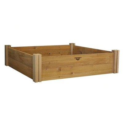 Home and Garden Gronomics Modular Raised Garden Bed - 48x48x13 - 2 Level