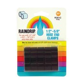 "Indoor Gardening Raindrip Hose End Clamp- 1/2"""""