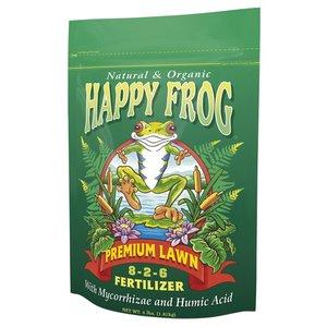 Outdoor Gardening Fox Farm Happy Frog Premium Lawn Fertilizer - 4 lb