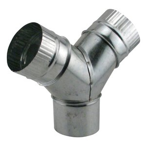 "Ventilation and Air Purification Y Connector-4""x4""x4"""
