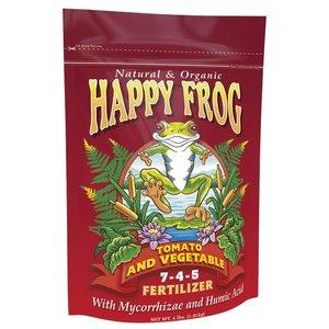 Outdoor Gardening Happy Frog Tomato & Vegetable 7-4-5