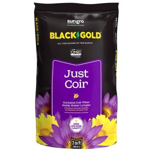 Indoor Gardening Black Gold Just Coir- 2 cu ft