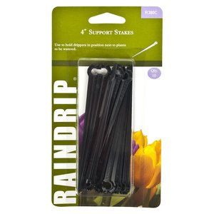"""Indoor Gardening Support Stake- holds 1/4"""" tubing"""
