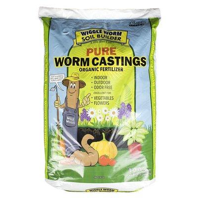 Outdoor Gardening Worm Castings 1-0-0;30lb