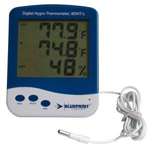 Indoor Gardening Sunleaves Digital Thermometer/Hygrometer