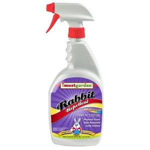 Pest and Disease I Must Garden Rabbit Repellent Spray - 32 oz