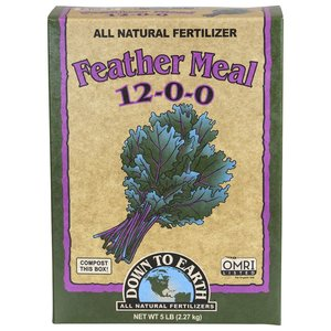Organic Gardening Down to Earth Feather Meal - 5 lb