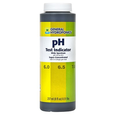 Indoor Gardening GH pH Test Indicator 8oz