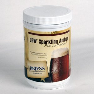 Beer and Wine Briess Sparkling Amber LME, 3.3 lb