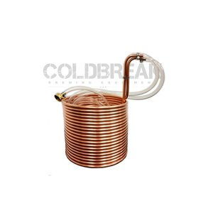 """Beer and Wine Immersion Wort Chiller, 50' - 3/8"""""""