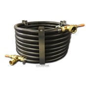 Beer and Wine Counterflow Wort Chiller