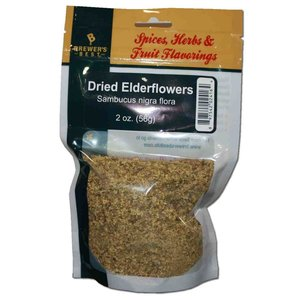 Beer and Wine Dried Elderflowers (Sambucus nigra flora)