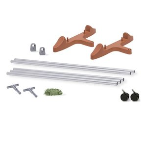 Containers Earth Box Stake System-Terra Cotta