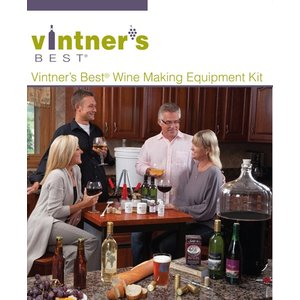 Beer and Wine One Gallon Wine/Cider Making Equipment Kit