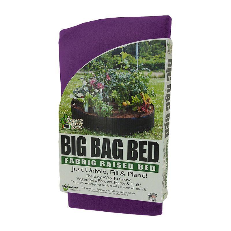 Outdoor Gardening Smart Pot - Big Bag Bed - 100 Gallon - Purple ...
