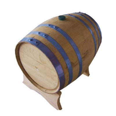 Beer and Wine 5 Gallon Used Whiskey Barrel and Stand