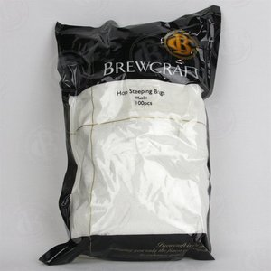 Beer and Wine Muslin Hop Straining Bag, 5x11 Inch (100 count bag)