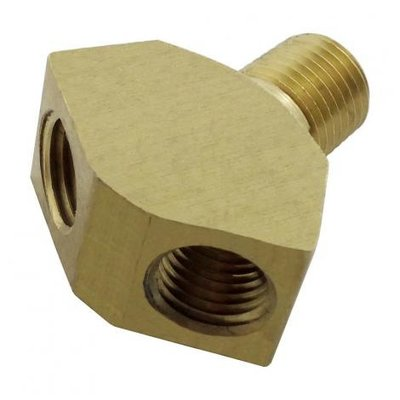 """Beer and Wine Wye Splitter-1/4"""" MPT"""