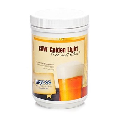Beer and Wine Briess Golden Light LME; 3.3 lbs