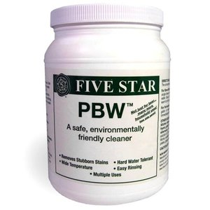 Beer and Wine Powdered Brewery Wash (PBW) - 4 lb