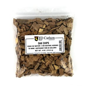 Beer and Wine American Oak Chips-Light Toast; 4 oz