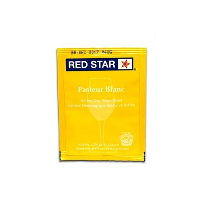 Beer and Wine Red Star Pasteur Blanc (Champagne) - Dry Wine Yeast