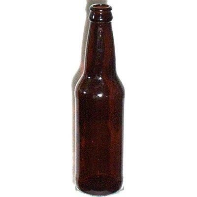 Beer and Wine Amber Beer Bottle, 12 oz