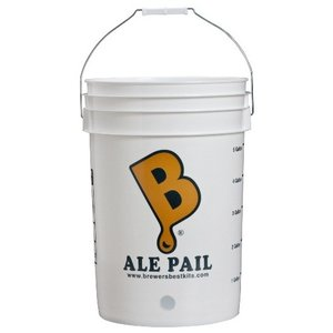 Beer and Wine Ale Pail Bottling Bucket- 6.5 Gallon