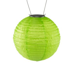 Yard and Garden Art Original Soji Lantern - Green